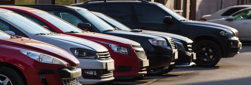 Vente de véhicules d'occasion